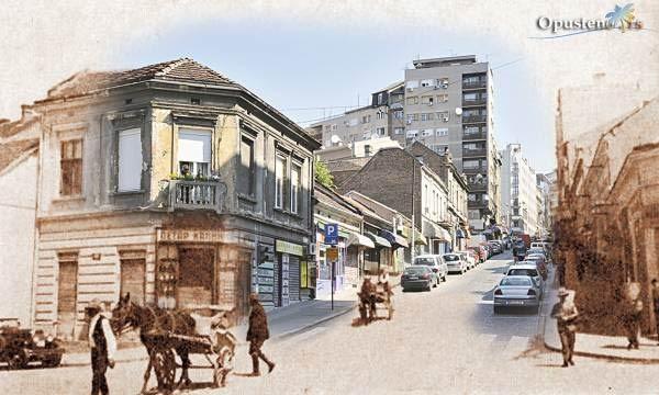 Beograd Nekad I Sad Balkanska Ulica